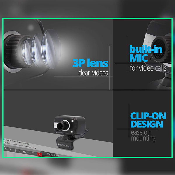 zebronics zeb crystal clear web camera 5