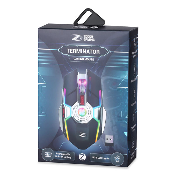 zoook terminator rechargeable wireless mouse 8