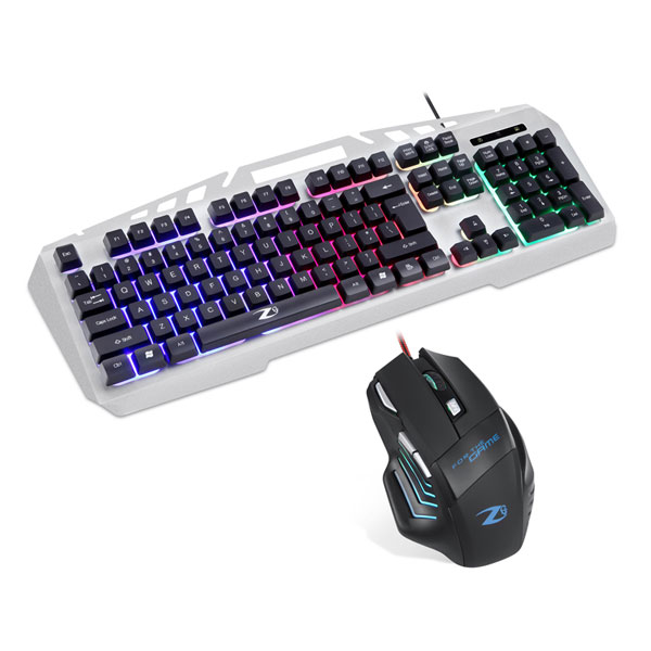 Zoook Wired Gaming Keyboard and Mouse Combo