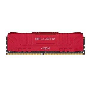 Crucial Ballistix 3600MHz DDR4 Desktop Gaming Memory RAM 8GB (8GBx1) RED BL8G36C16U4R