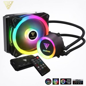 Gamdias Chione E2-120R ARGB 120mm AIO Liquid Cooler With Remote