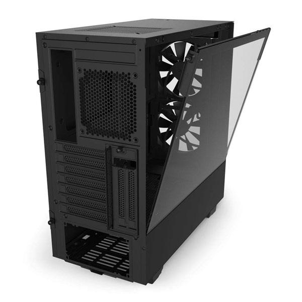nzxt h510 elite matte black gaming cabinet 6