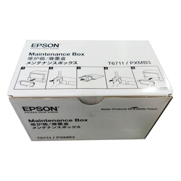 Epson T6711 Ink Maintenance Box For Printers (L605/L655/L1455)