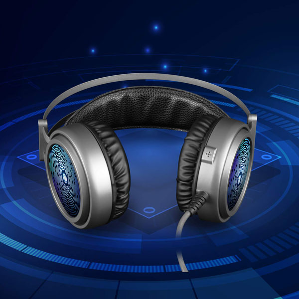 zebronics 8 bit Premium Gaming Headphone with RGB Lights
