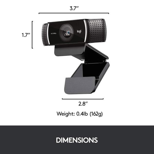 logitech c922 pro stream webcam 3