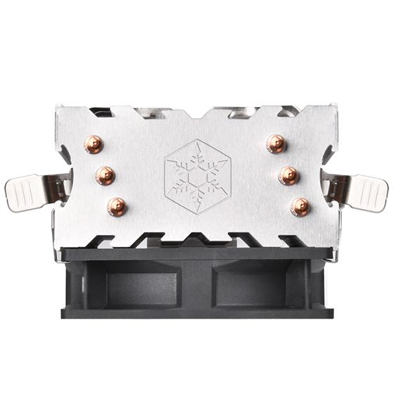 SilverStone KR02 92 mm CPU Air Cooler, Universal Socket Compatibility Intel & AMD
