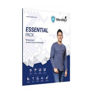 WardWiz Essential Pack Antivirus 1 PC, 1 Year
