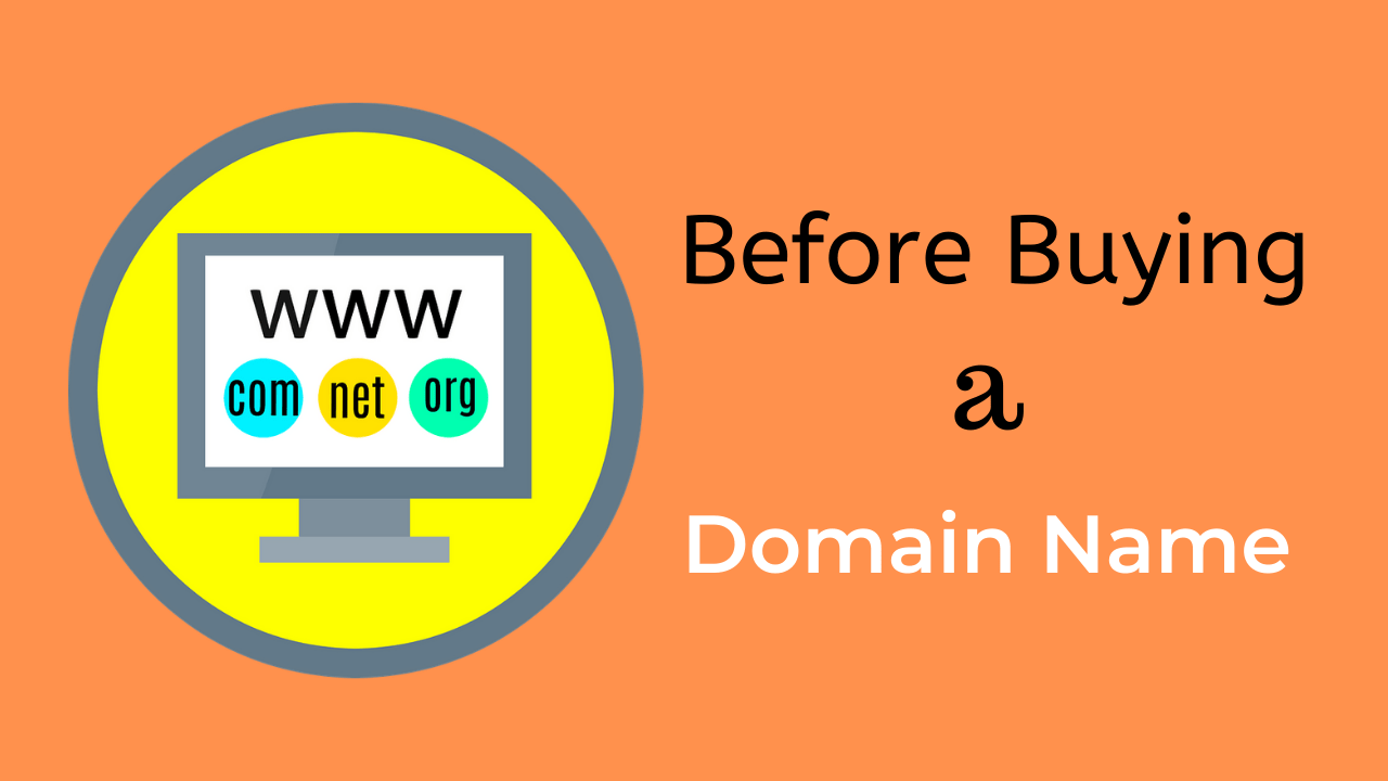 [9+1] Important Tips before buying a Domain Name!