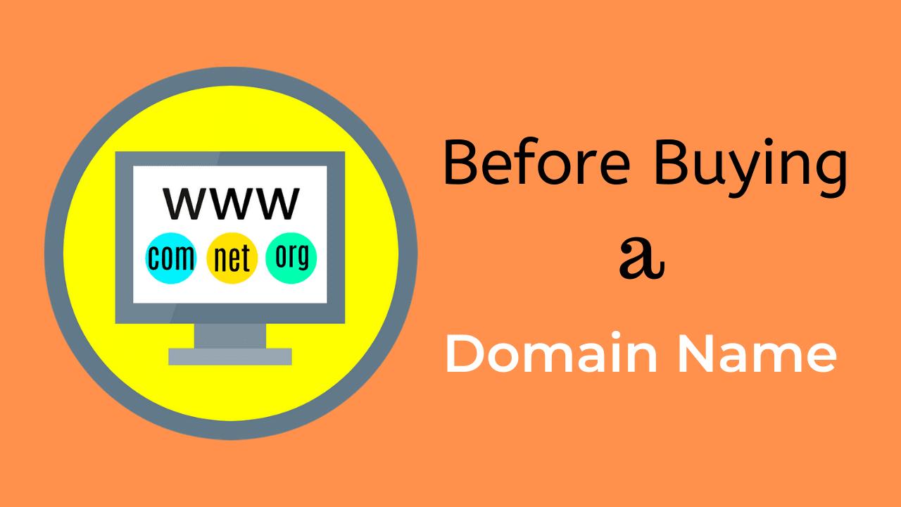 [9+1] Important Tips before buying a Domain Name! via @dmshivamnarayan