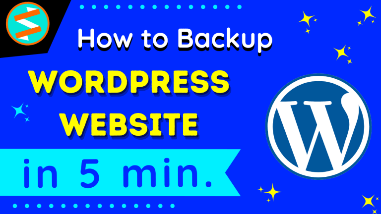 How to Backup WordPress site for Free