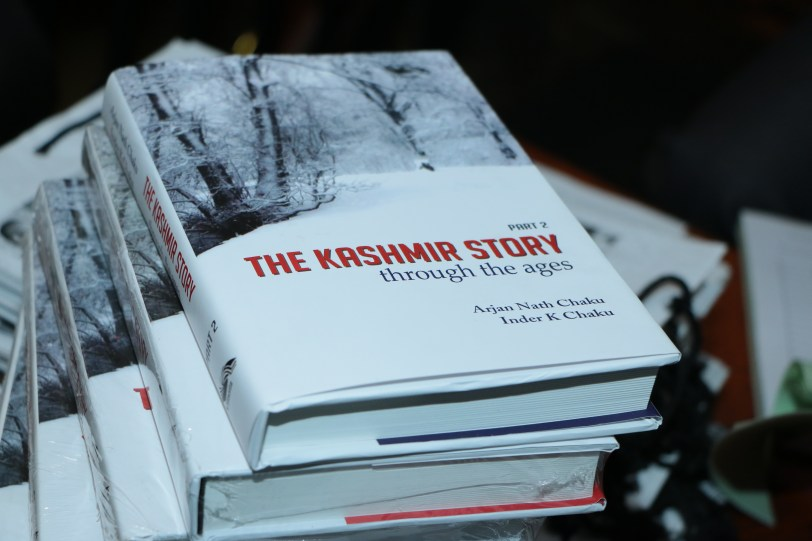Launch of The Story of Kashmir, through the Ages @ Niche Lounge & Bistro (2)