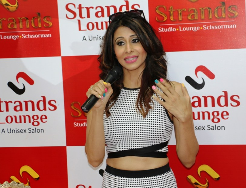 Actress Kishwar Marchent at the launch of strand saloon at Punjabi Bagh new delhi-2