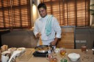 3-Chef Saby preparing Beer Chicken Vindaloo