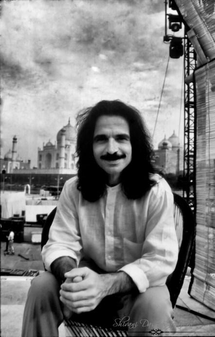 Yanni, the composer @ Taj Mahal 1996