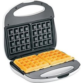 Makes perfect golden brown waffles