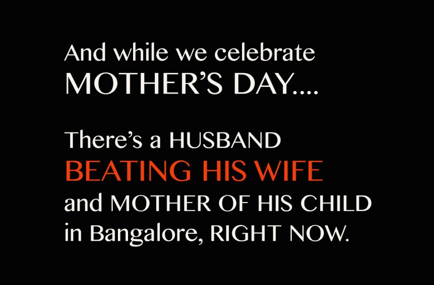 mothers day physical abuse bangalore