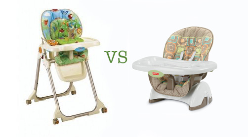 High Chair or Booster Seat for babies - Which baby feeding chair should you buy?