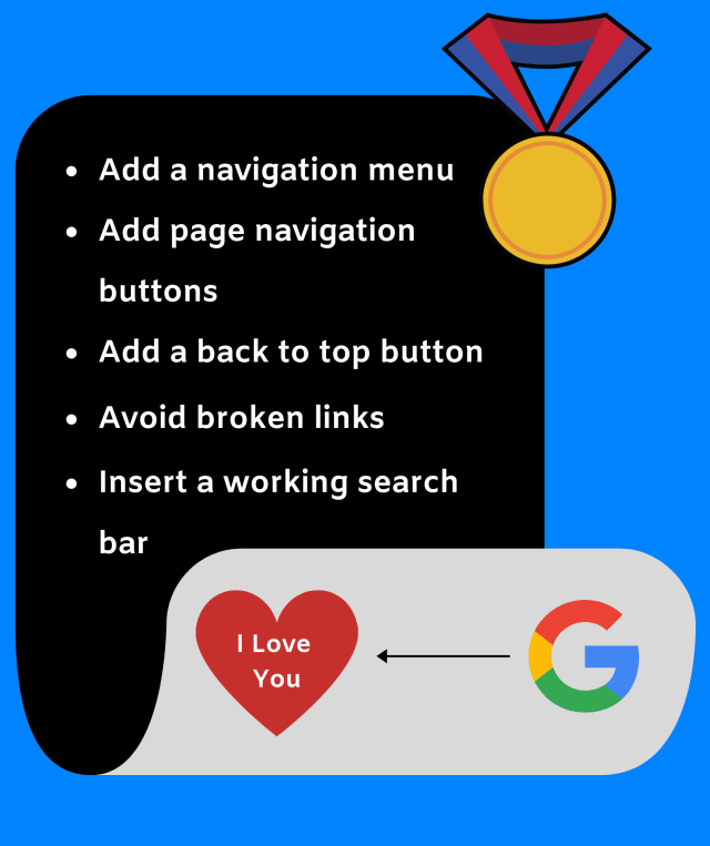 Here's is what you have to do to make your site up with a great navigation system. If your site is about digital marketing like mine, you've gotta seek UX.