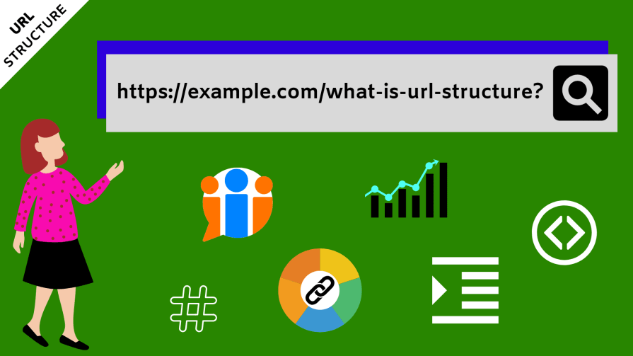 Your URL structure is what Google looks at. You've gotta optimize it for SEO.
