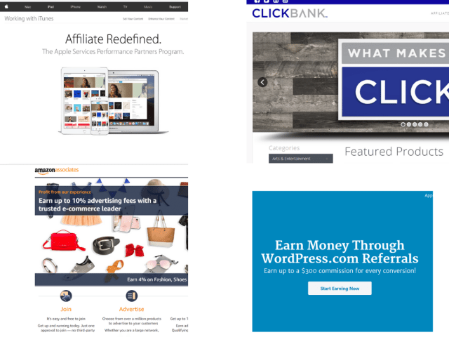 Every company in digital marketing field uses affiliate marketing model.