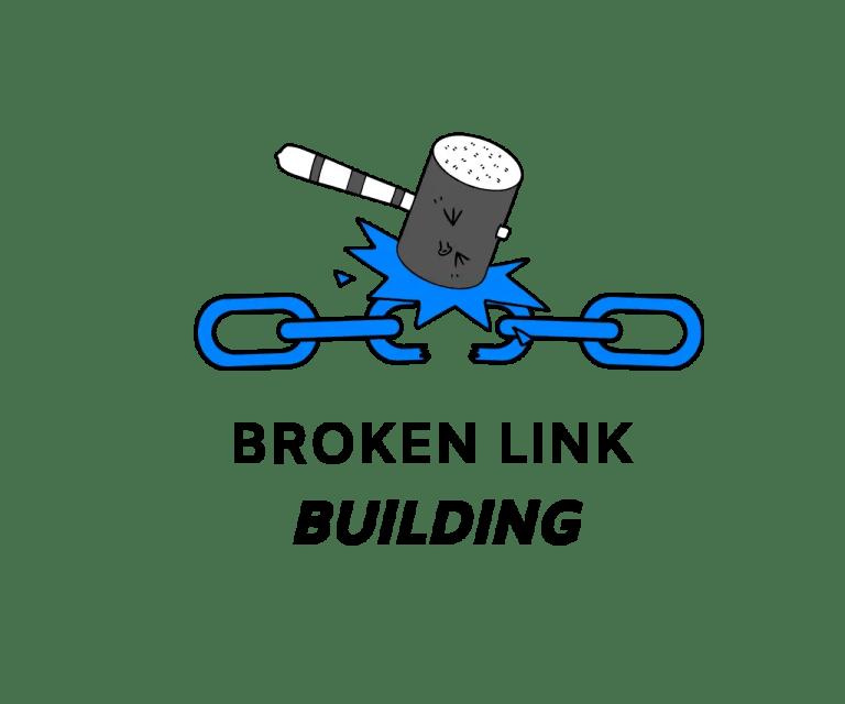 Broken link building strategy.