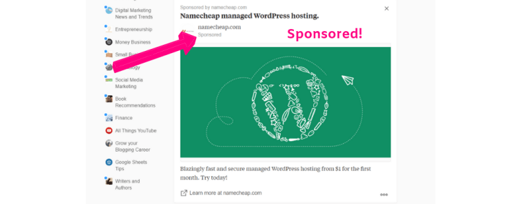 Image ads on Quora for marketing.