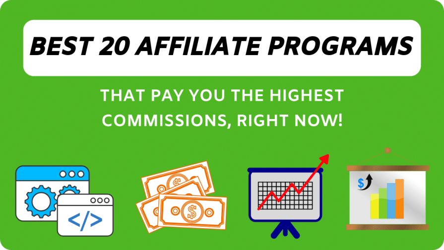Top 20 affiliate programs out there that you don't probably want to miss at all.