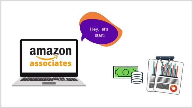 Starting with Amazon Affiliate Marketing.