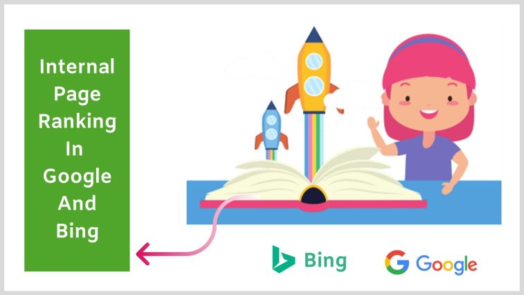 Bing ranks only the homepage and it's harder to rank internal pages with it.