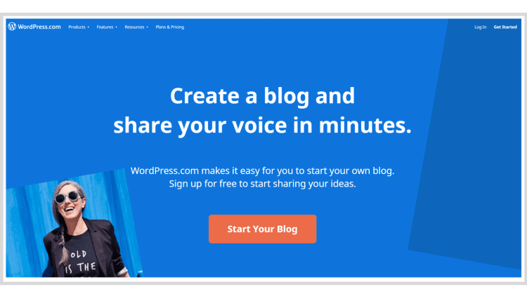 How to successfully start a blog with WordPress.com.