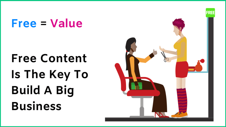 The best marketing strategy ever is to provide free content.