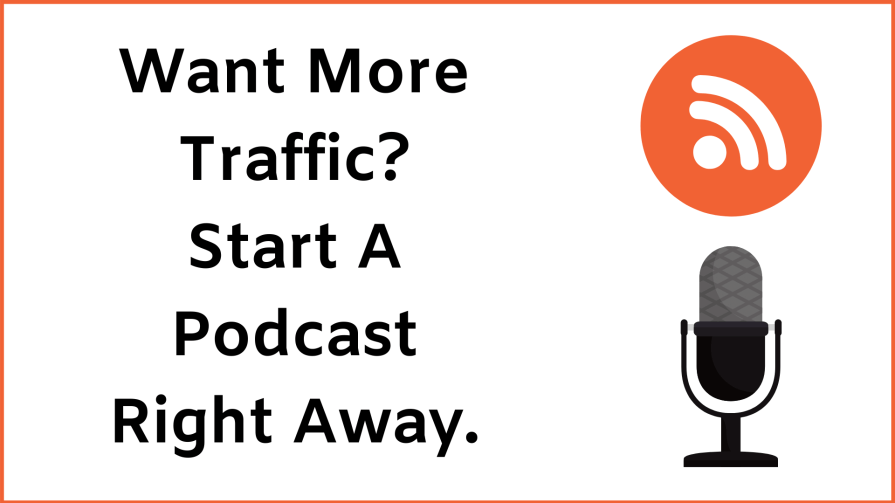 Start a podcast in 2020 to gain more targeted traffic.