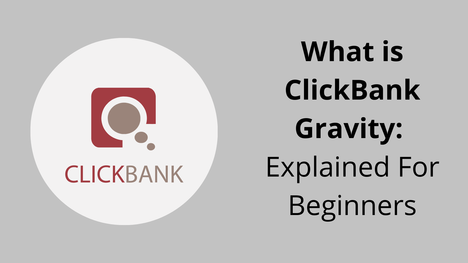 What does gravity mean on ClickBank