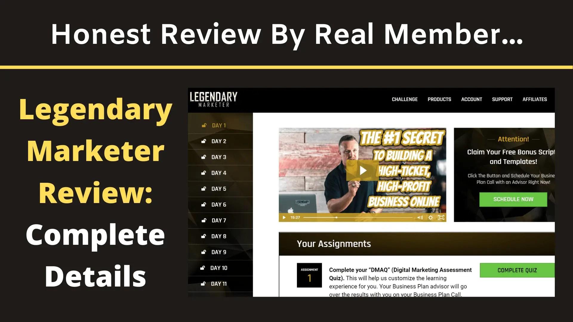 Legendary Marketer Review: Is Legendary Marketer A Scam?
