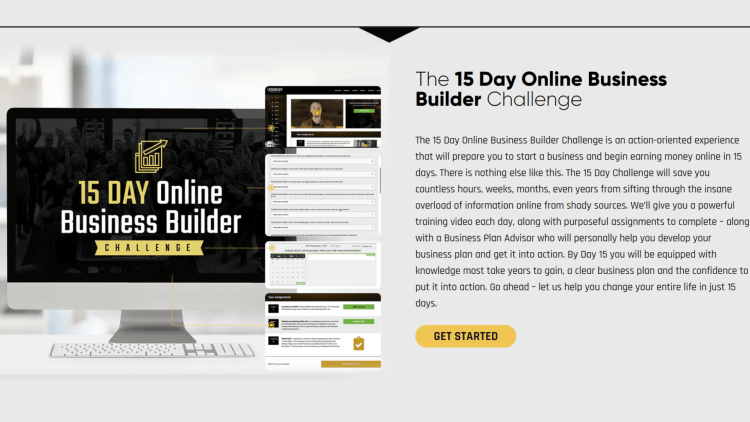 15 Day Online Business builder challenge