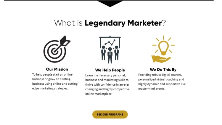 What is Legendary Marketer?