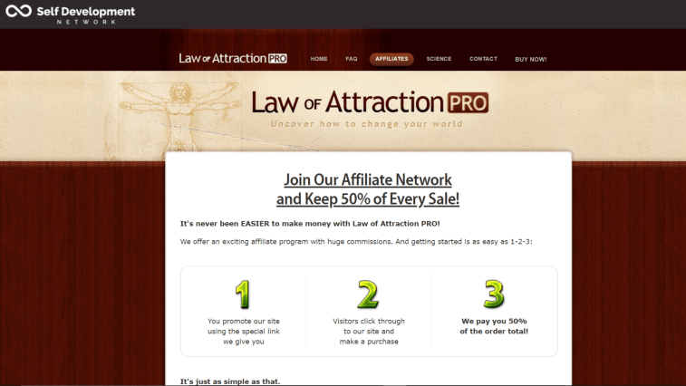 9 Best Law Of Attraction Affiliate Programs