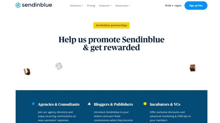 Sendineblue affiliate program
