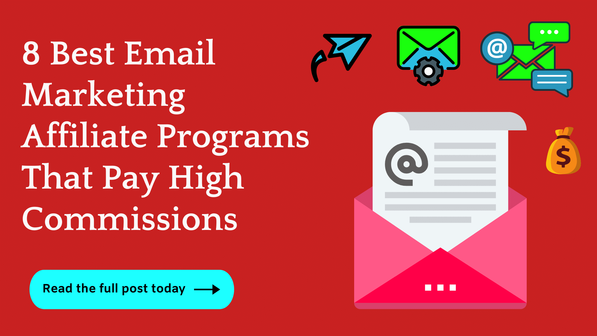 8 best email marketing affiliate programs