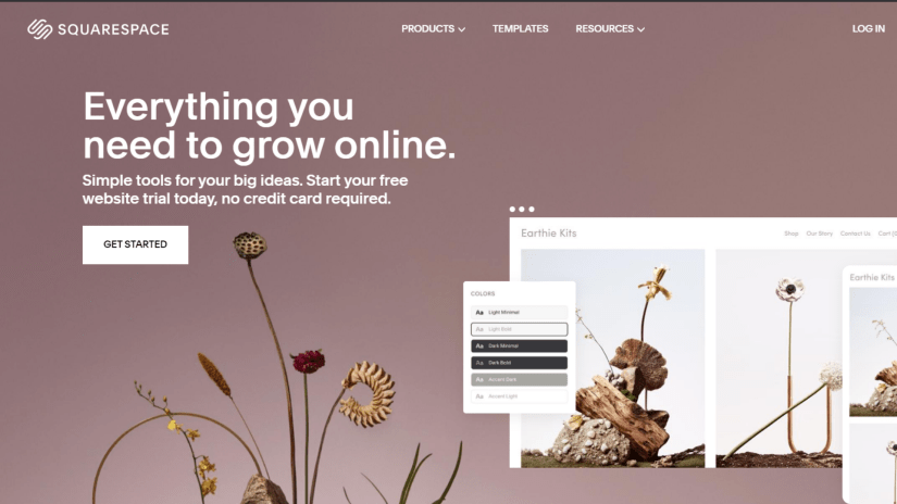 Weebly alternatives: Squarspace