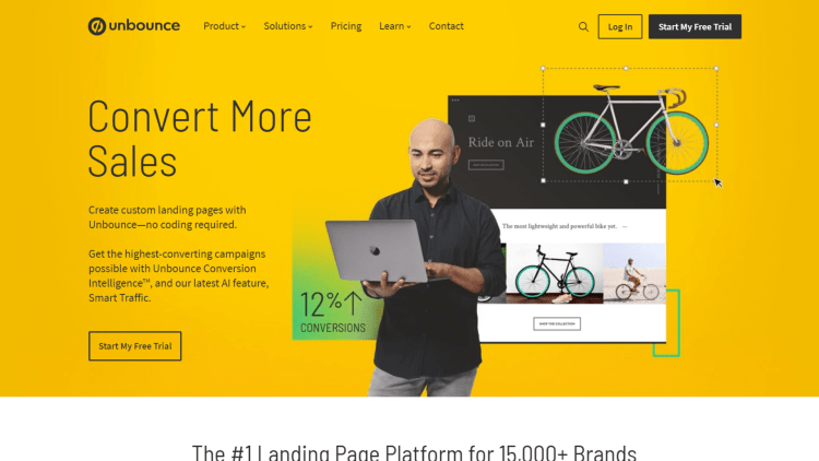Leadpages Alternatives: Unbounce