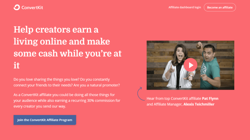 Best Autoresponder Affiliate Programs: ConvertKit