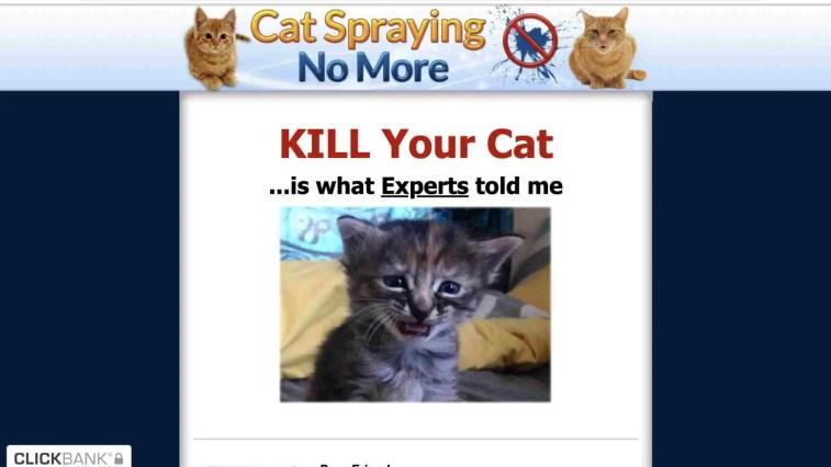 Cat Spraying No More Affiliate Program