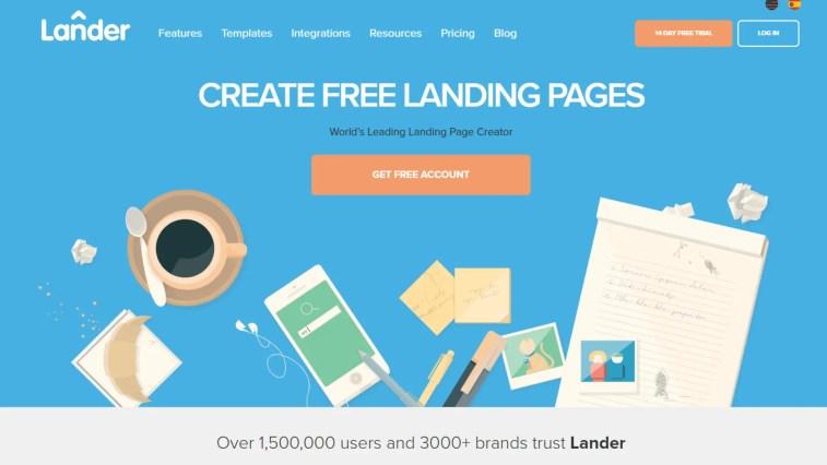 Lander: Alternative to Leadpages