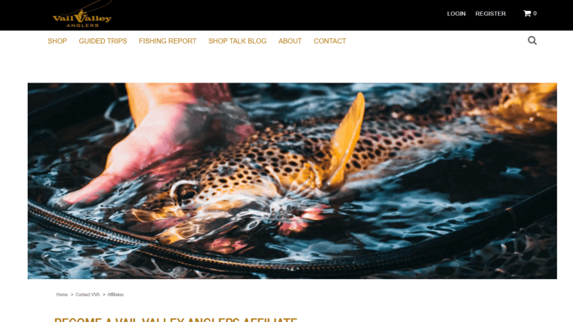 Fishing Affiliate Program