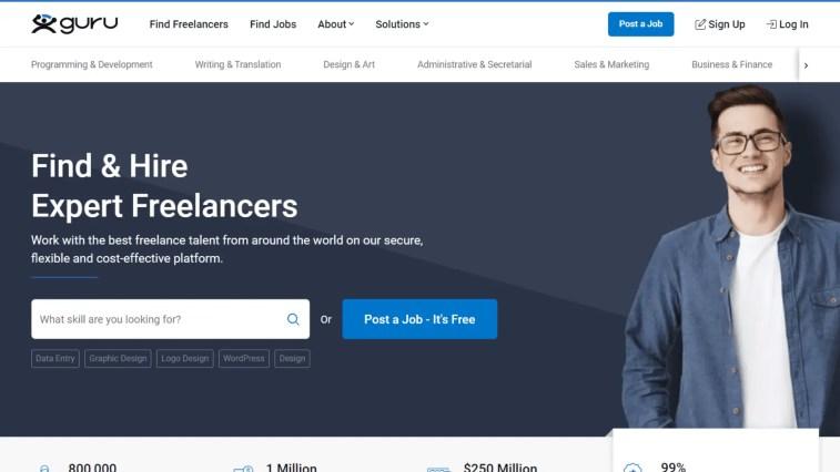 iWriter alternatives - Guru.com