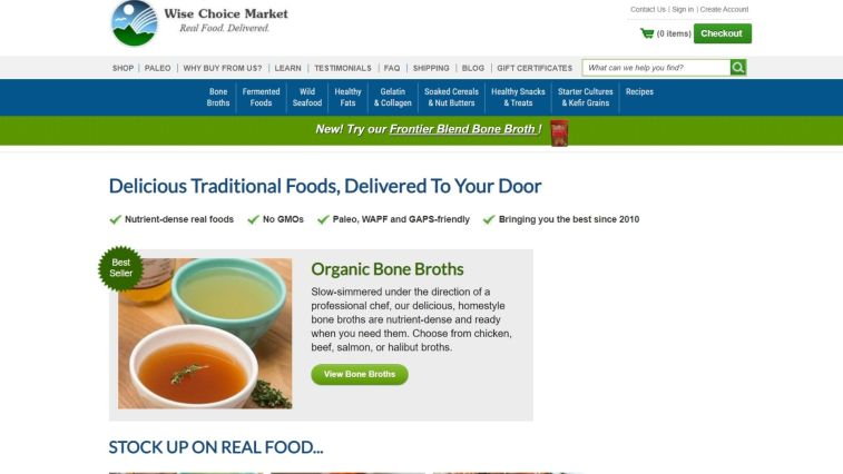 Wise Choice Market Affiliate Program for Organic Food Bloggers