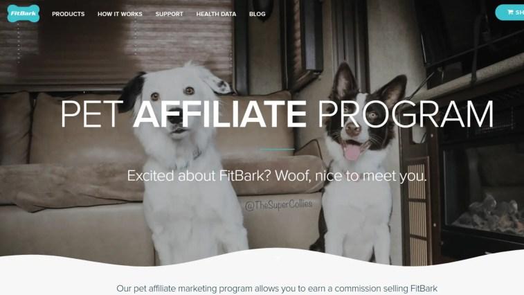 Best Dog Affiliate Programs: FitBark