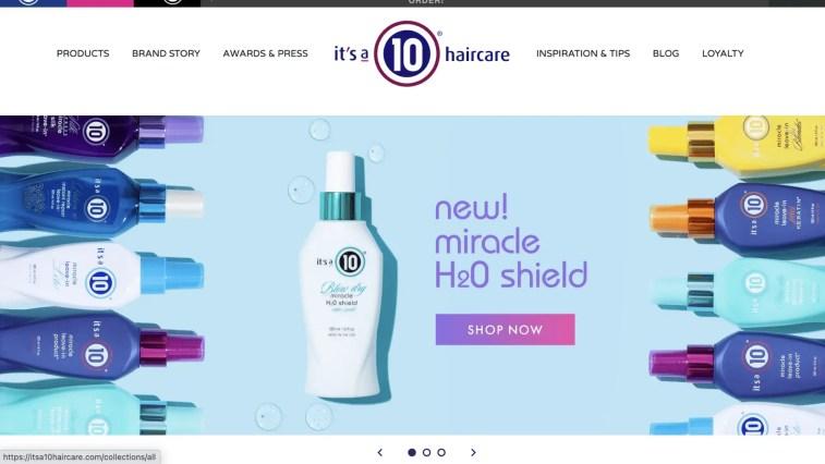 It's a 10 Haircare Company Affiliate Program