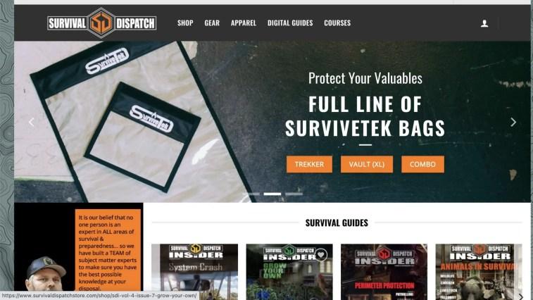 Survival Dispatch Store Affiliate Program